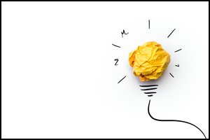 Nonprofit Innovation - today's wadded-up paper becomes tomorrow's great light-bulb moment!